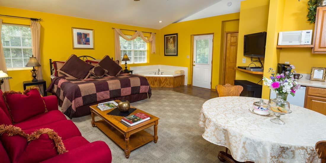 Hillside Cottage Interior