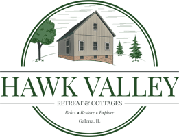 Hawk Valley Retreat and Cottages Logo