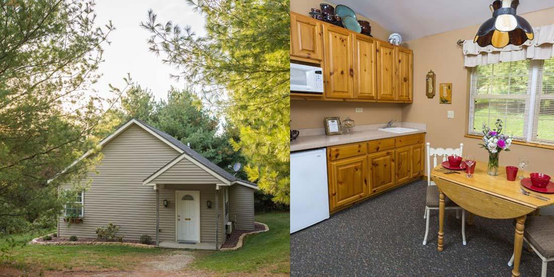 Pines Cottage Kitchenette