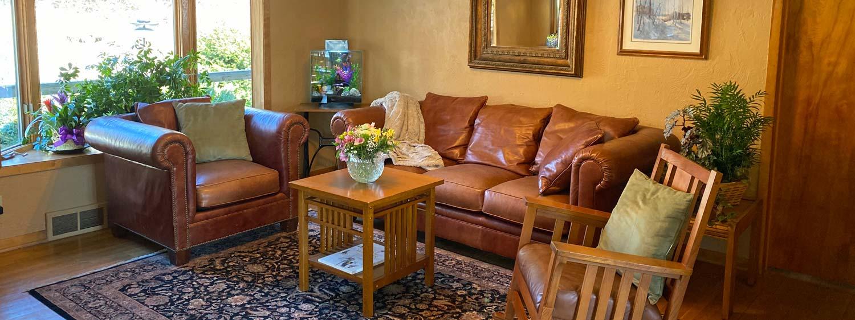 Living Room Hawk Valley Retreat